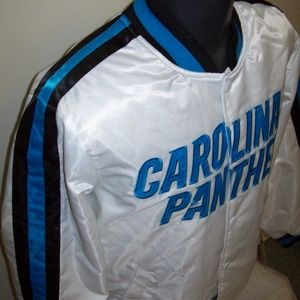 CAROLINA PANTHERS Starter NFL Jacket  3X 4X
